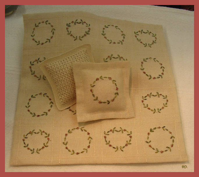 broderie crochet nouveau. Black Bedroom Furniture Sets. Home Design Ideas